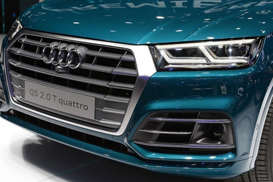 Lưới tản nhiệt đặc trưng phong cách Audi
