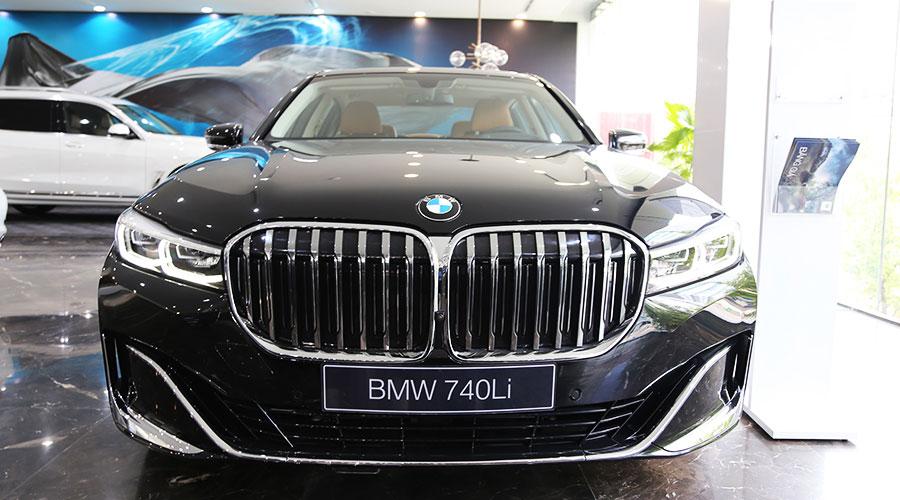 BMW 740Li dòng sedan hạng sang cao cấp