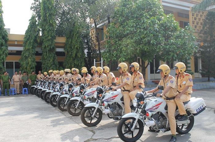 Xe chuyên dùng đảm bảo an toàn khi tham gia giao thông