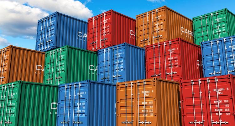 Container chứa hàng hóa chuyển đi xa