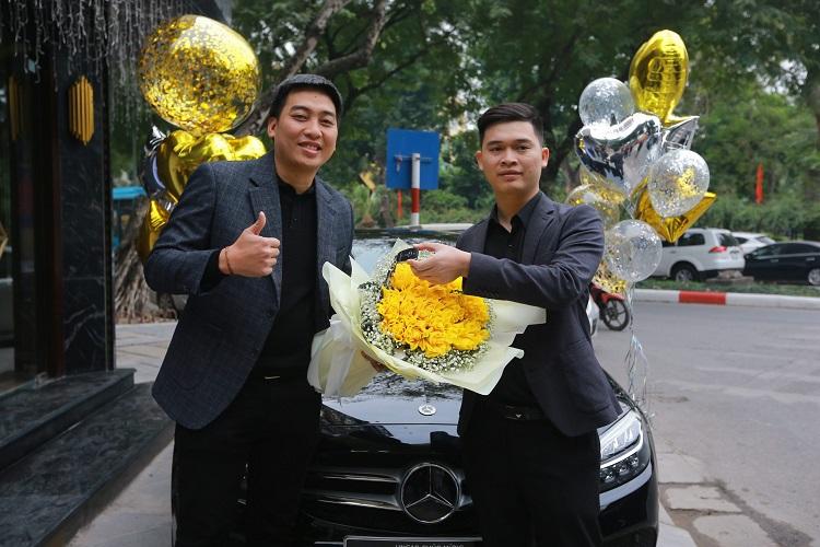 Gửi lời chúc mừng Sếp mua xe mới