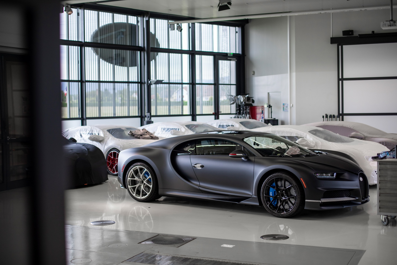 Hãng xe Bugatti ngày nay thuộc về sở hữu của tập đoàn Volkswagen, Đức