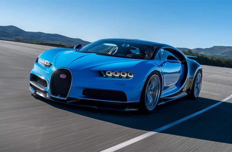 Dòng xe Bugatti Veyron
