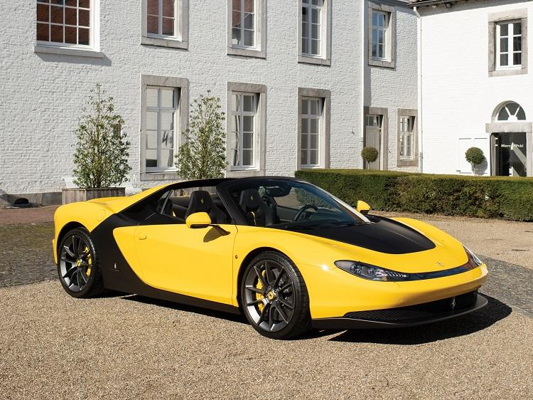 Ferrari là thương hiệu đình đám của Ý